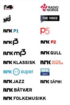 Disse kanalene kan du høre på dab.