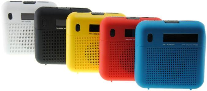 Tiny Audio M3 - i 5 flotte farger.