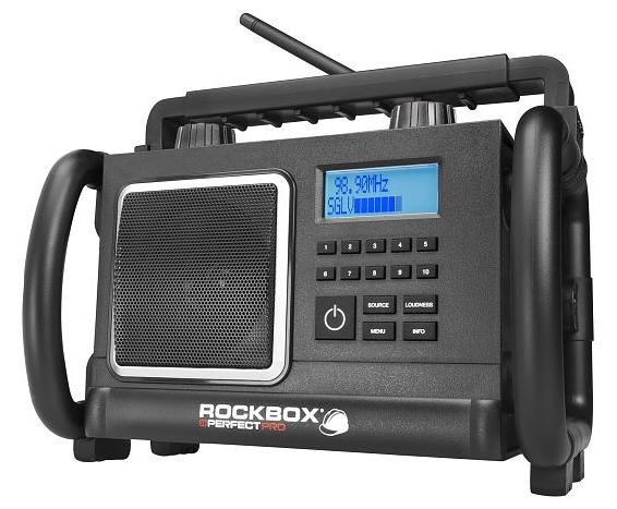 PerfectPRO Rockbox er lillebroren til DAB+BOX. Men, som alle vet, lillebrødre kan være tøffinger...