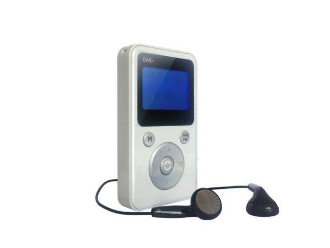 Lommeradio med stor lyd, veldig godt signalmottak, dab, dab+, fm og mp3-spiller og opptak fra dab og fm.