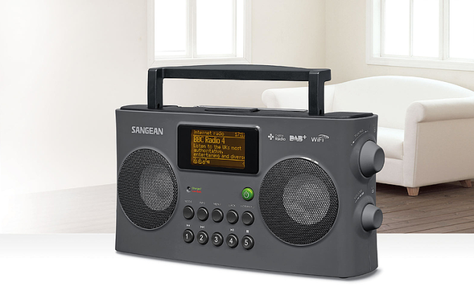 Sangean WFR29D. En hyggelig julenyhet hos Radiobutikken.no