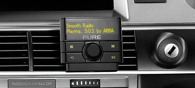 Få tilgang til alle de digitale radiokanalene i bilen din! Paus nyhetene mens du tanker bilen.
