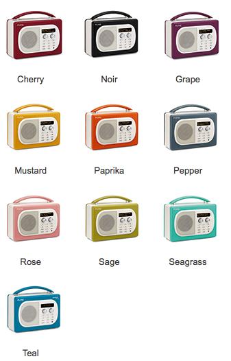 Her er alle Evoke Mio fargene. Med forbehold om at noen blir utsolgt.