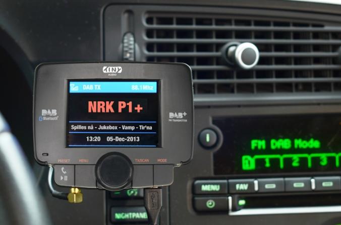 DAB-adapteret Tiny Audio C3 er i følge produsenten svært enkelt å montere i en hvilken som helst bil.