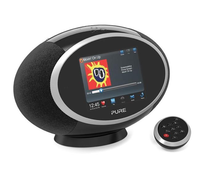 Pure Sensia 200D Connect leveres i sort og hvit. Lagervare hos Radiobutikken.no