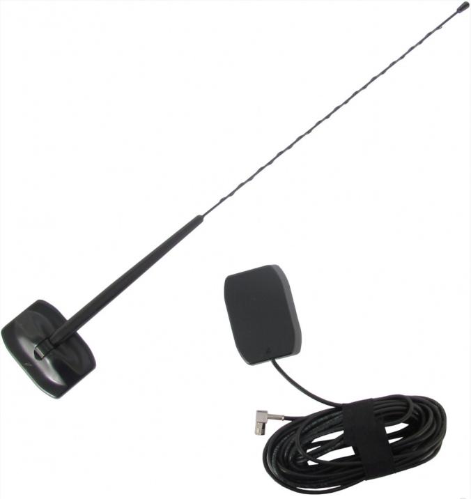 Antennen som gir deg utendørssignal i bilen uten hull i karosseriet.