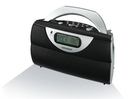 En solid kjøkkenradio fra Grundig