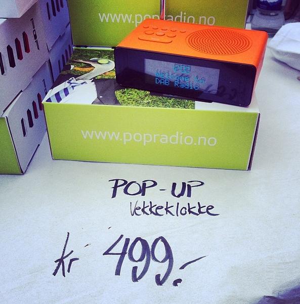 Bestill deg en POPup i dag. Fire friske farger å velge i mellom.