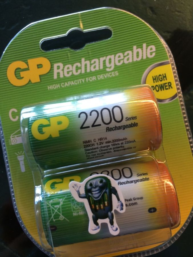 Oppladbare batterier er smart!