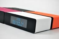 POPup kommer i fire fine farger. Sort, hvit, oransje og rosa.