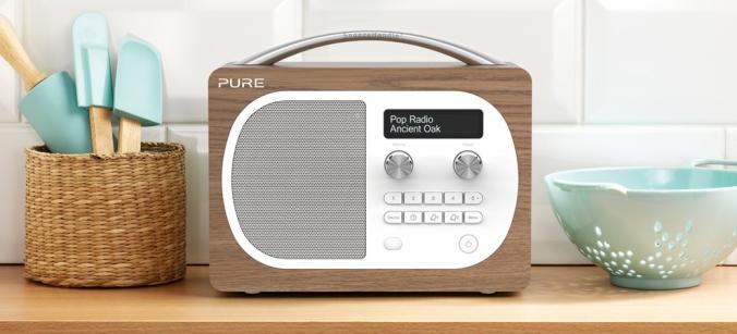 En lekker radio med god lyd. Godt mottak og høy kvalitet er en selvfølge med Pure.