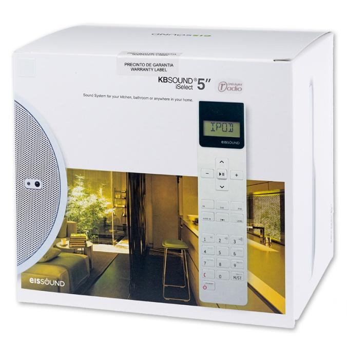 """KB Sound iSelect 5"""" er en supersmart løsning for deg som vil ha radio i taket."""