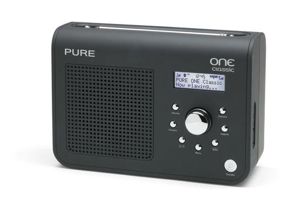 God kvalitet, god lyd. PURE One Classic har dab, dab+ og fm. Du kan kjøpe oppladbar batteripakke i tillegg.