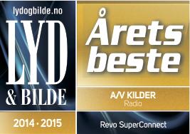 Lyd og Bilde har kåret REVO SuperConnect til årets beste radio.