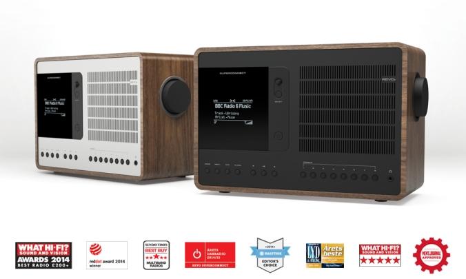 REVO SuperConnect vil finnes med både sort og sølv front i 2015. Radiobutikken.no har et begrenset antall allerede.