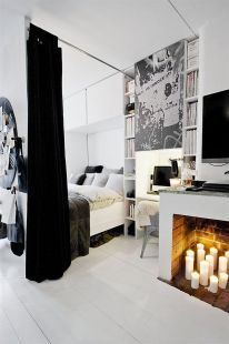 black-white-interior-design-apartment-bedroom