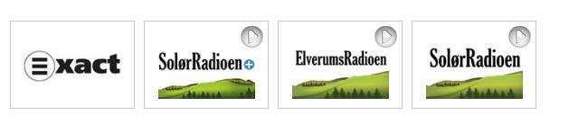 Dabradiokanalene i Hedmark (skjermdump fra radio.no)