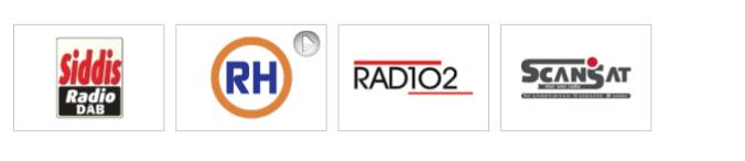Dabradiokanalene i Rogaland (skjermdump fra radio.no)