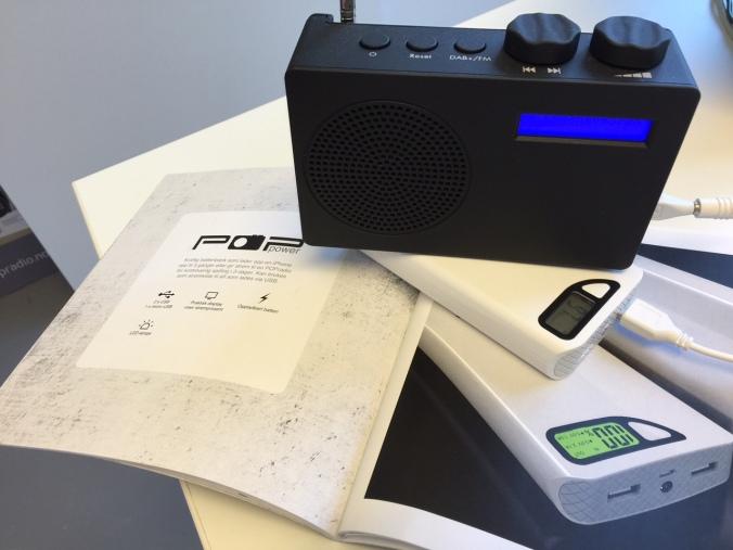 Med POP dab+ og POPpower har du digitalradio kontinuerlig i over 3 døgn - eller minst 5-6 dagers jevn lytting.