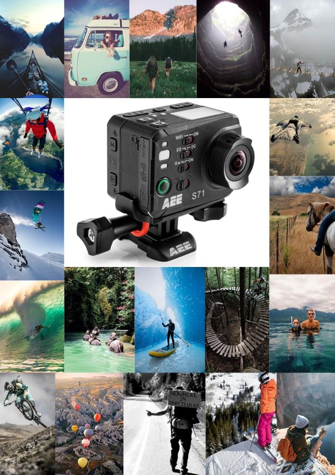 AEE S71 Camera