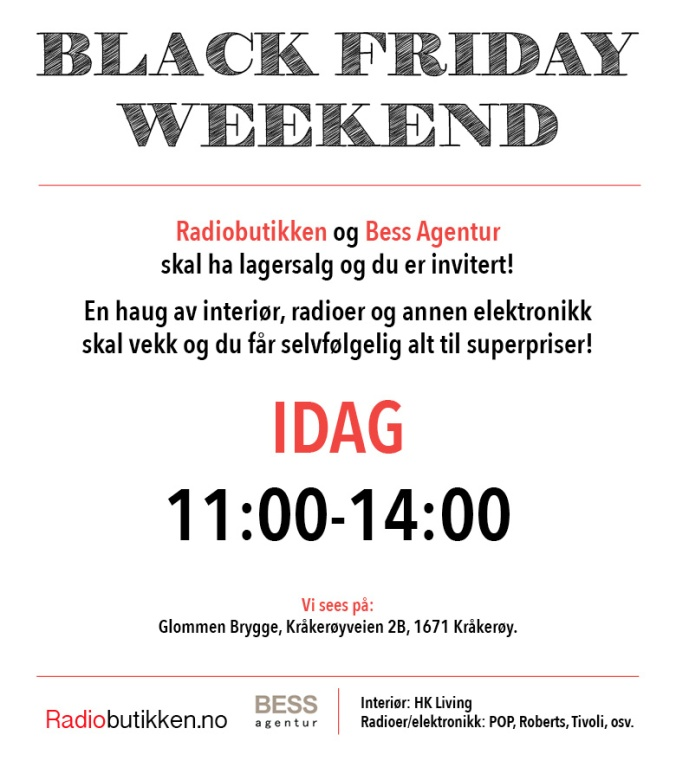BlackFridayWeekend_idag_lør