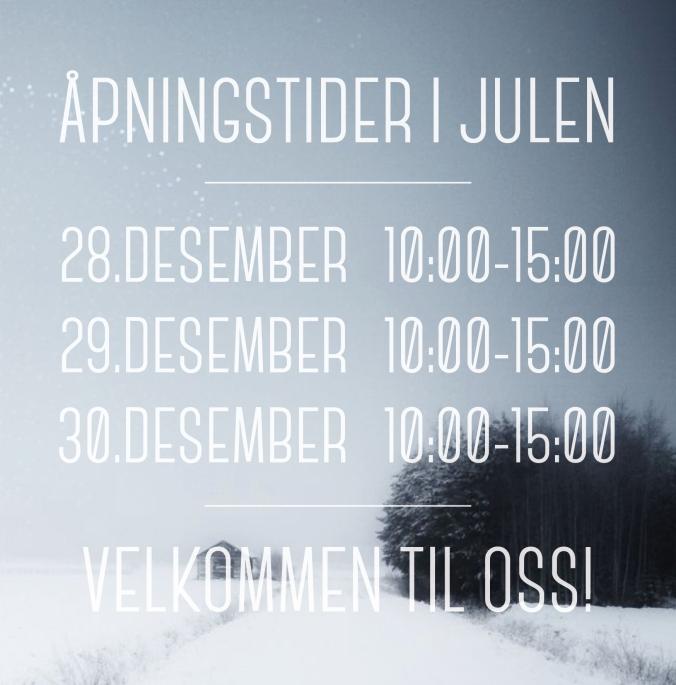 Åpningstider_jul