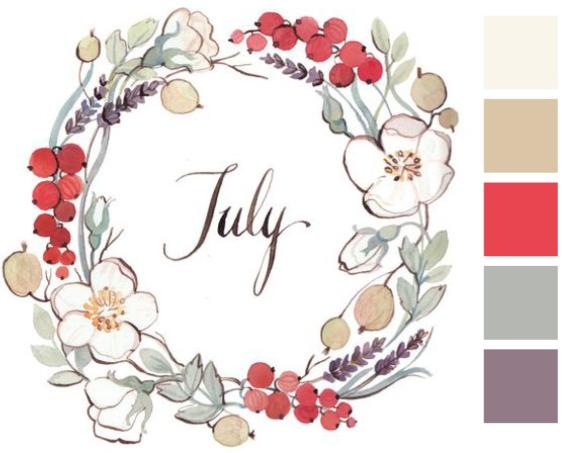 Velkommen juli