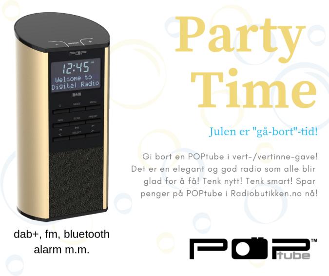 radio med dab+, fm og bluetooth