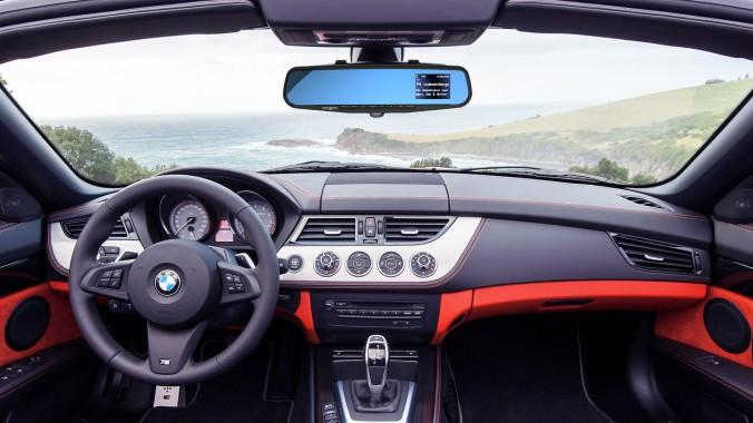 radio i speilet - dab og bluetooth