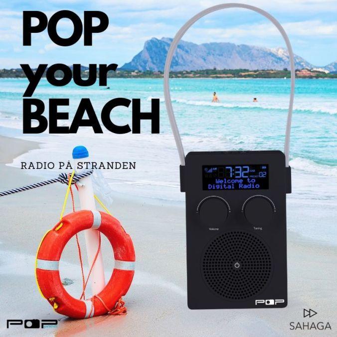 POPyourBEACH dab+ og fm radio